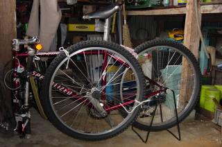 自転車梱包1